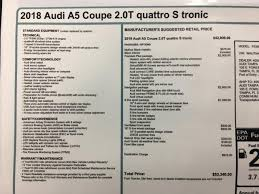 2018 audi garage door opener. beautiful 2018 new 2018 audi a5 20 tfsi premium plus s tronic 2dr car in tampa 184008   reeves import motorcars to audi garage door opener