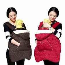 Cotton Baby Carrier Sling Cover For Winter Baby Backpack Carrier ...