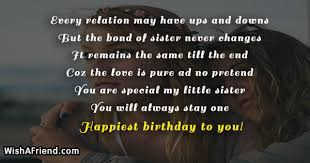 Every Relation May Have Ups And Sister Birthday Quote Awesome Ups Quotes