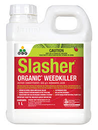 These homemade organic weed killers are non toxic, natural, cheap and effective. Slasher Organic Weedkiller Eco Organic Garden By Ocp