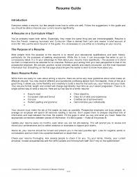Basic Resume Sample Resume Sample Pdf Format Fungramco 89