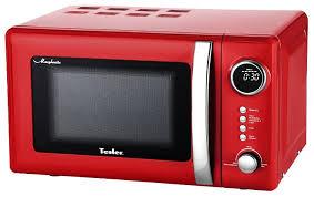 <b>Микроволновая печь Tesler ME-2055</b> RED — купить по выгодной ...