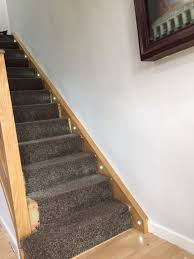 staircase lighting led. Large Size Of Stair Lights Indoor Recessed Led Step Light Kit Hall Landing Lighting Ideas Installing Staircase