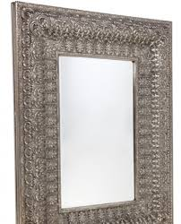 antique silver ornate wall mirror allissias attic vintage french style
