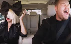 sia belts her hits with james corden for carpool karaoke watch billboard
