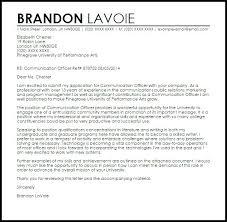 Community Relations Cover Letter Cover Letter Sample Bruins