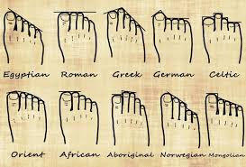 Ancestry Toe Chart Your Foot Shape And Your Genealogy Dna Genealogy Family
