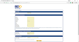 while it lures victims that they re transacting in a secure connection the site uses s the customized bdo landing