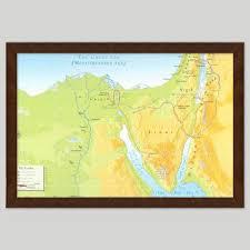 Wallmaps Bible The Map Shop