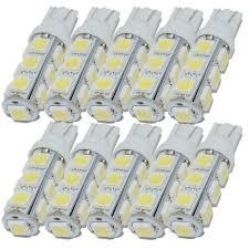 Safego <b>10pcs T10</b> W5W <b>194</b> 168 2825 LED Wedge Bulb ...