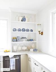 Open Kitchen Shelf How To Style Open Kitchen Shelves Citrineliving