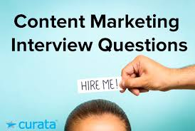 Interview Questions For Account Managers Interview Questions Answers For Content Marketing Template