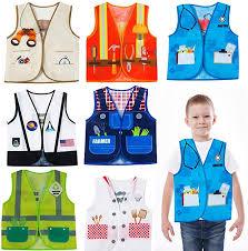 Amazon.com: Tigerdoe Dress Up Vest - <b>7 Pc</b> - Pretend Play School <b>Set</b>