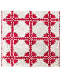 The Art of Quilting in Red and White | Architectural Digest &  Adamdwight.com