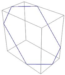 intersecting planes cube. intersecting planes cube c