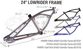 stretch chopper bicycle frame bicycle sierramichelsslettvet