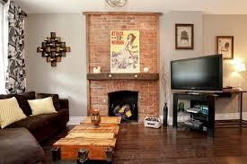 publications eclectic living room