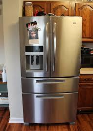 french door refrigerator in kitchen. French Door Refrigerator Small Kitchen Trendyexaminer In O