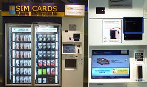 Japan Sim Card Vending Machine Classy Vending Machines Nippon