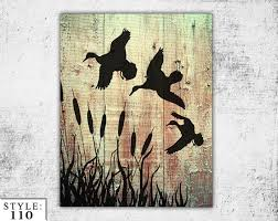 duck hunting wood sign hunters home decor by theuniquejunktique