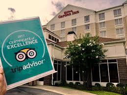 hilton garden inn greenville earns 2017 tripadvisor certificate of excellence