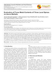 essment of metal contents in es and herbs from saudi arabia z s seddigi request pdf