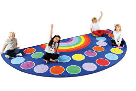 rainbow placement semi circle classroom rugs carpets for rug inspirations 11