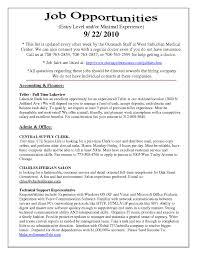 Entry Level Teller Resume Free Resume Templates