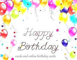 Free Photo Birthday Card Template