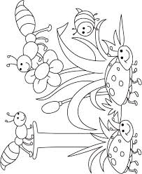 Small Picture I for insect coloring page for kids Download Free I for insect