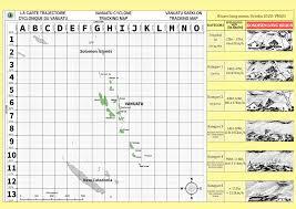 Vanuatu Cyclone Tracking Map