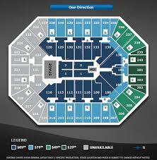 One Direction Target Center
