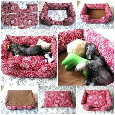 Dog Bed Patterns Magnificent Dog Bed Pattern With Sides Dog Bed Sewing Patterns With Sides Dog