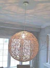 ball chandeliers string ball chandelier photo of yarn ball chandelier light yarn pendant small white ball