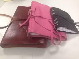 custom leather books