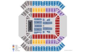 Ed Sheeran Tampa Seating Chart Ed Sheeran Tampa Sports Authority