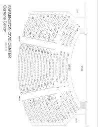 Civic Auditorium Seating Chart Farmington Centene Center Seating Chart Farmington
