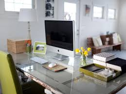 Organizing ideas for home office Wall Vintage Wood Door As Desk In Contemporary Home Office Design By Meredith Perdue Hgtvcom Quick Tips For Home Office Organization Hgtv