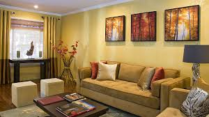 Yellow Gold Paint Color Living Room Living Rooms 12 Spacious Living Room Paint Color With White