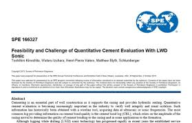 Blyth Design And Structural Engineering Limited Feasibility And Challenge Of Quantitative Cement Evaluation