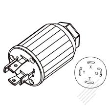 Bc52da56ac62e4b7b62cuom 250v plug wiring nema l14 30p to l6 30r 30