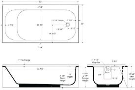 standard bathtub size tub height for bathtubs idea bath dimensions canada standard bathtub size bath length towel dimensions