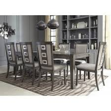 dining room sets. Chadoni Gray Rectangular Extendable Dining Room Set Sets