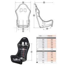 Sabelt Race Suit Size Chart Sabelt Titan Race Seat