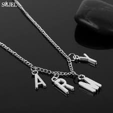 2018 <b>SMJEL</b> Trendy Jimin ARMY Letter Choker Necklaces For ...
