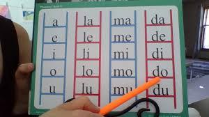 Abeka Phonics Chart 2 Phonics Chart 3 Youtube