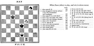 Chess Moves Chart The 64 Square Grid Design Of Through The Looking Glass