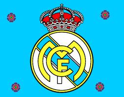 escudo del real madrid c f pintado