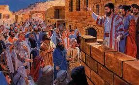Bildergebnis für apostles stand with peter at pentecost
