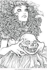 Disegno Horror05 Categoria Fantasia Da Colorare